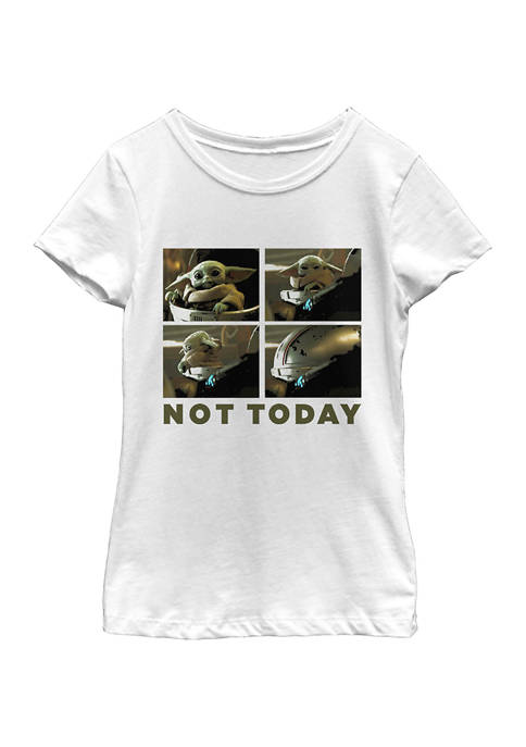 Girls 4-6x Not Today Top