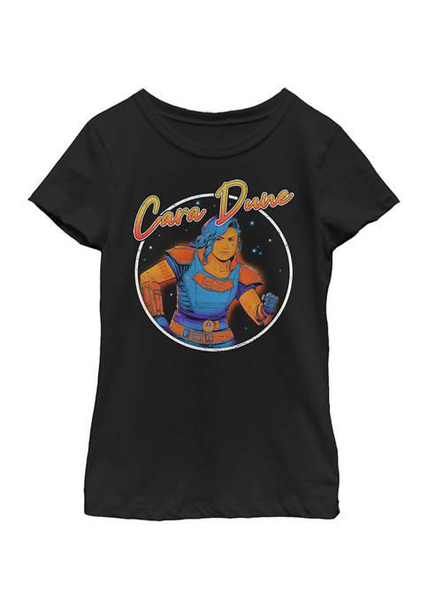 Girls 4-6x Cara Dune 80s Hero Graphic Top