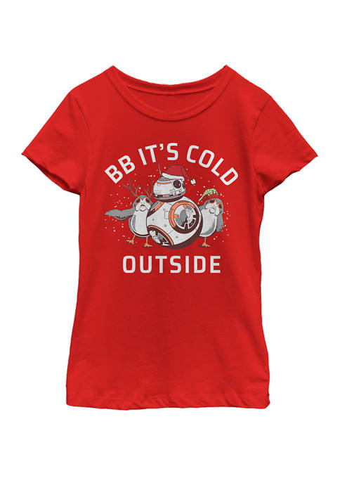 Star Wars® Girls 7-16 BB Its Cold Outside