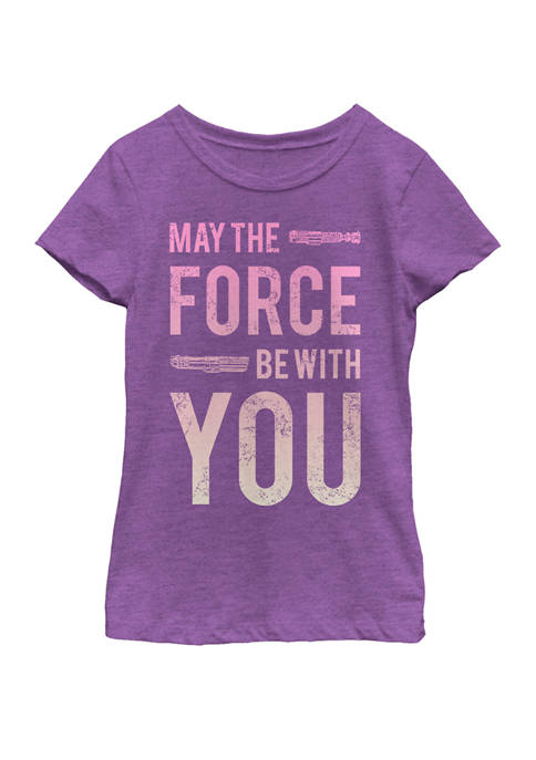 Star Wars® Girls 7-16 Force Be With You