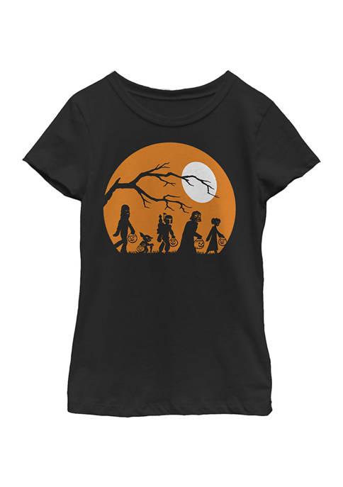 Girls 4-6x The Haunt Graphic T-Shirt