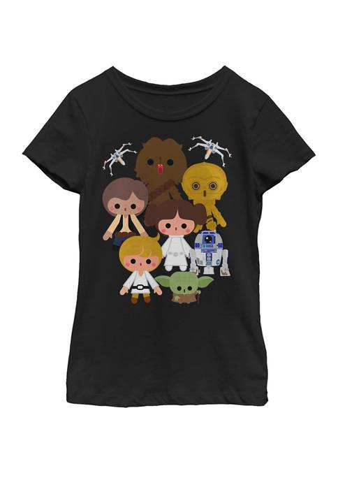 Star Wars® Girls 7-16 Cute Kawaii Style Heroes