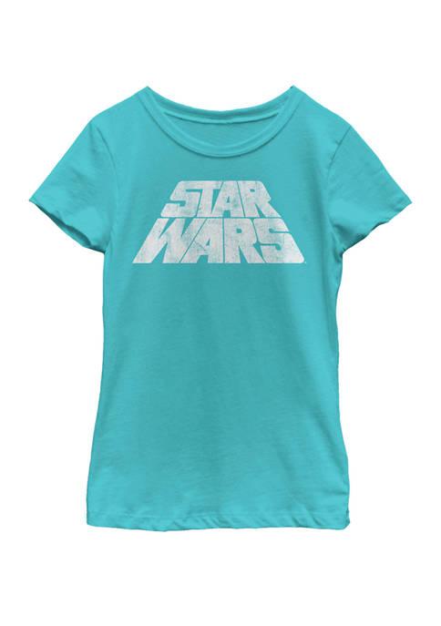 Girls 7-16 Slanted Scroll Logo Short Sleeve Graphic T-Shirt