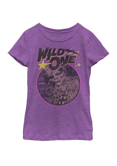 Star Wars® Girls 7-16 Chewbacca Wild One Short