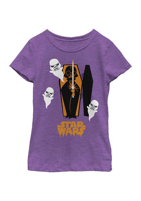 Girls 4-6x Coffin Spooks T-Shirt