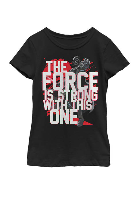 Star Wars® Girls 7-16 Force Is Strong Darth