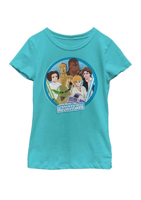 Star Wars® Girls 7-16 Galaxy Of Adventures Circle