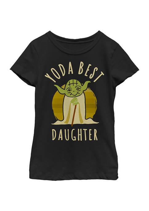 Star Wars The Mandalorian Girls 4-6x Best Daughter