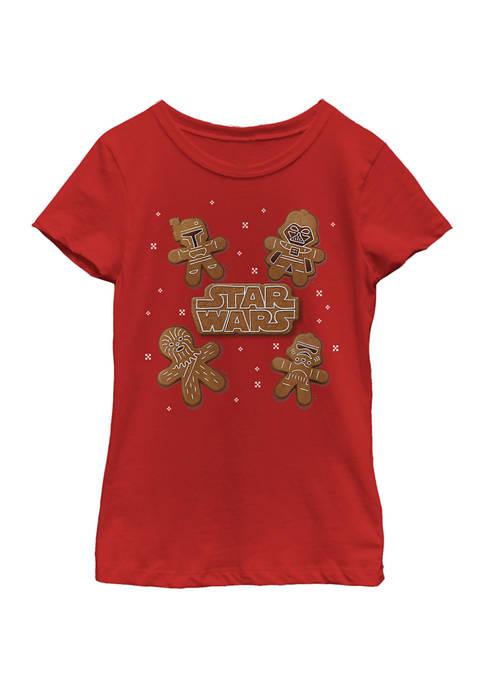 Girls 4-6x Gingerbread Crew T-Shirt