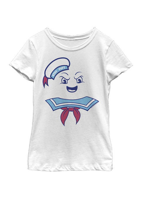 Ghostbusters Girls 7-16 Stay Puft Marshmallow Man Costume