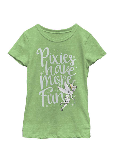 Disney® Girls 7-16 Pixies Are Fun Graphic T-Shirt