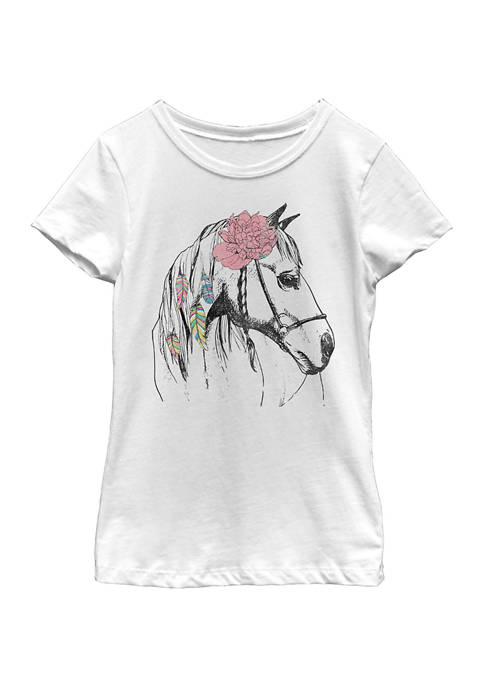Girls 4-6x Horse Love T-Shirt