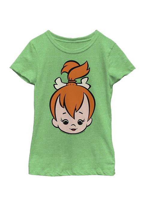 Cartoon Network Girls 4-6x Pebbles BigFace Graphic T-Shirt