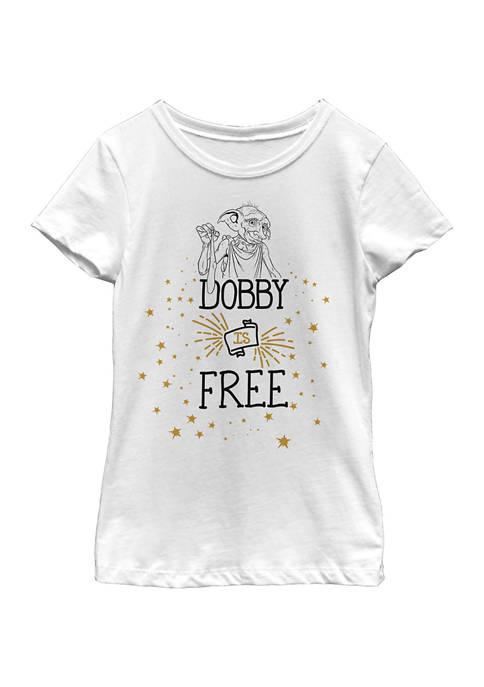 Harry Potter™ Girls 4-6x Dobby Free Graphic T-Shirt