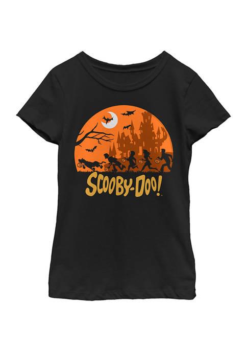 Girls 4-6x Scooby Haunt T-Shirt