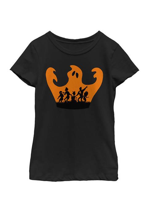Girls 4-6x Scooby Halloween T-Shirt