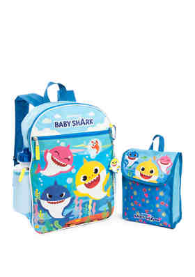 "5 Baby Shark 11/"" Mini Backpack"