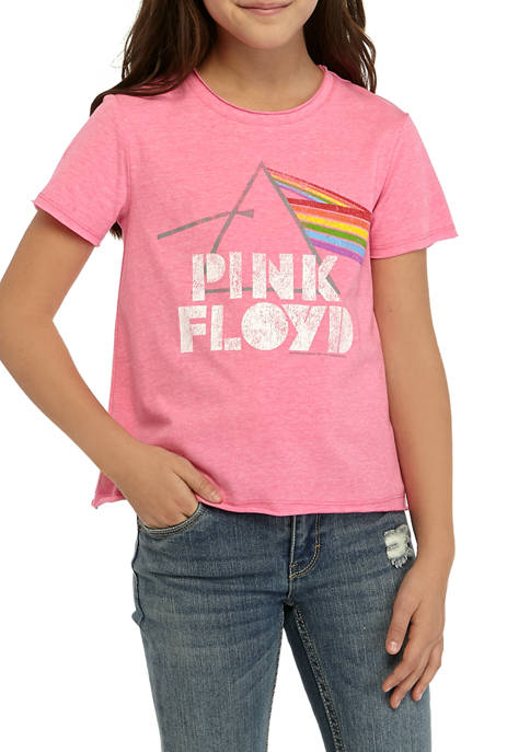 Kandy Kiss Girls 7-16 Short Sleeve Pink Floyd