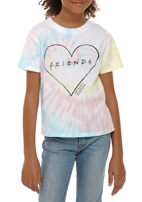 Kandy Kiss Girls 7-16 Tie Dye Friends Graphic