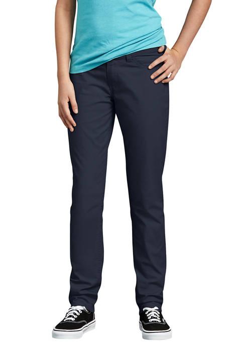 Juniors Schoolwear Super Skinny Fit Skinny Leg Pants, 0-15