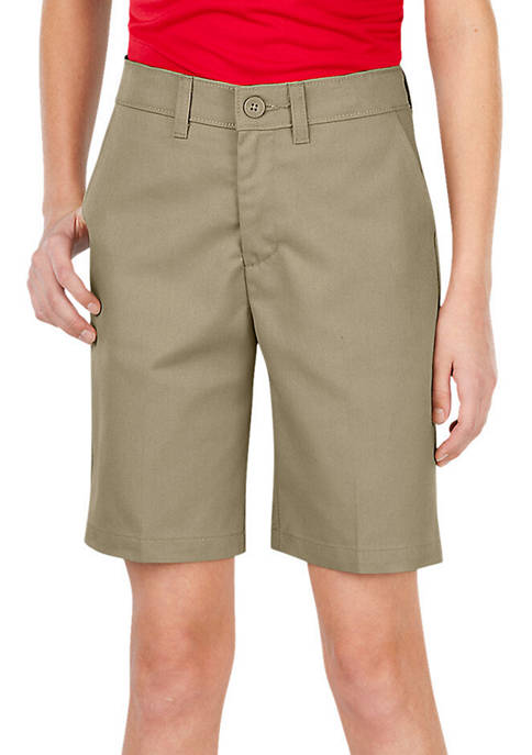 Dickies® Girls 7-20 FlexWaist Slim Fit Flat Front