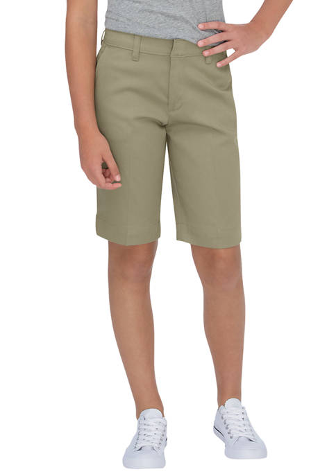 Dickies® Juniors Schoolwear Classic Fit Bermuda Stretch Twill