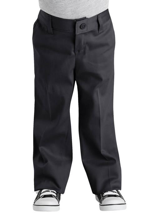 Dickies® Girls 4-6x Classic Fit Straight Leg Stretch