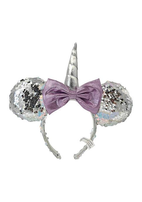 Disney Minnie Mouse Girls Unicorn Minnie Ears Headband