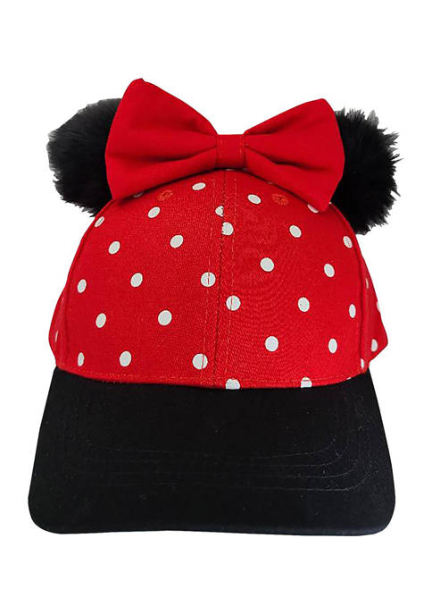 Disney® Minnie Minnie Mouse Hat with Poof Ears