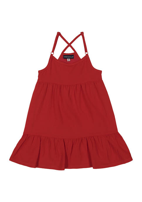 Andy & Evan Toddler Girls Flowy Dress