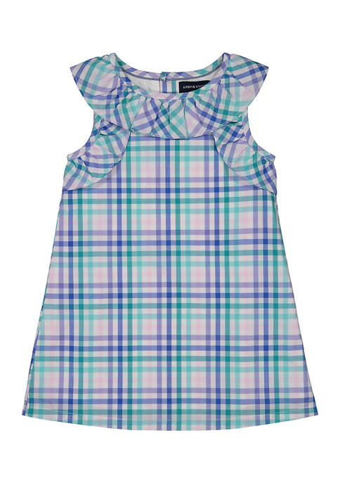 Andy & Evan Toddler Girls Short Sleeve Dress