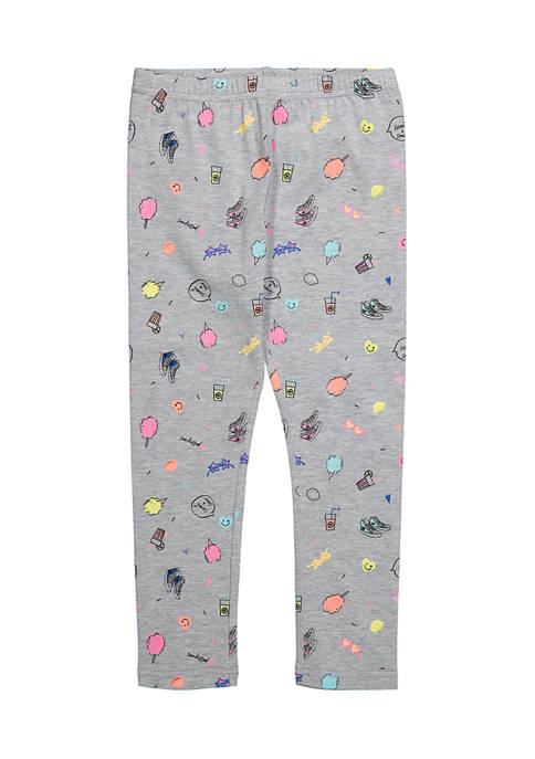 Andy & Evan Toddler Girls Boardwalk Leggings