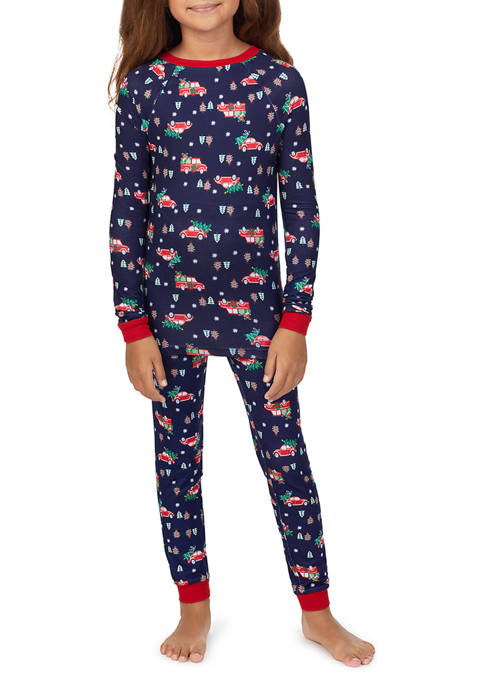PAJAMARAMA Kids Unisex Tight Fit Family Pajama Set