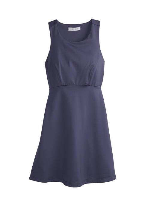 Girls 7-16 Solid Tank Dress
