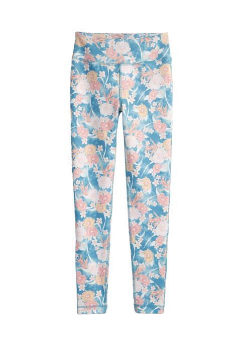 Ocean & Coast® Girls 7-16 Allover Print Leggings