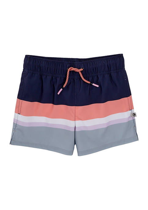 Girls 7-16 Printed Board Shorts