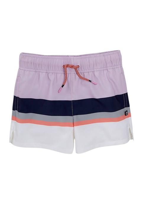 Ocean & Coast® Girls 7-16 Printed Board Shorts