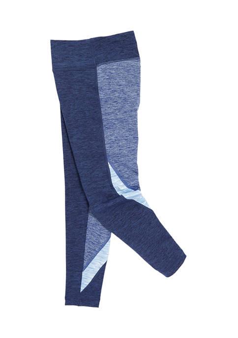 Girls 7-16 Color Block Leggings