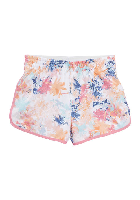 Girls 7-16 Printed Tulip Shorts