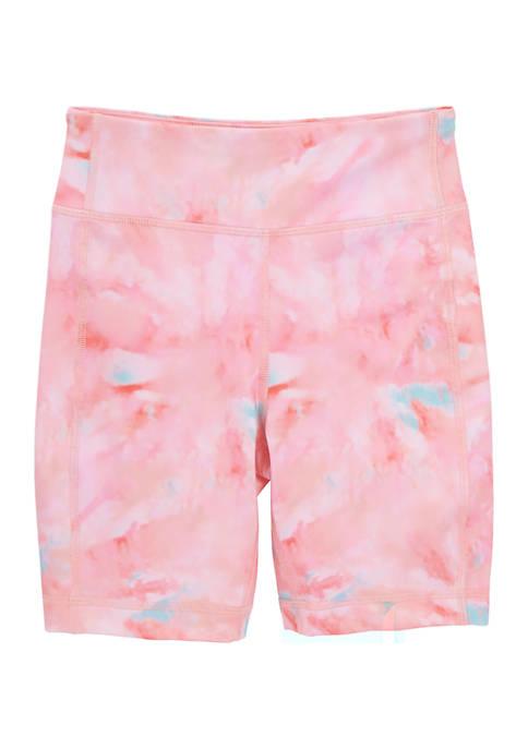 Girls 7-16 Printed Bike Shorts