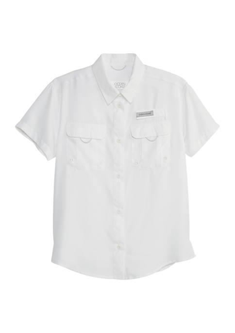 Girls 7-16 Fishing Shirt