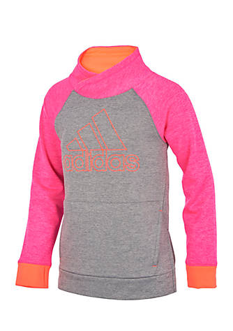 cheap for discount 26d87 db737 adidas Pullover Sweatshirt Girls 4-6x