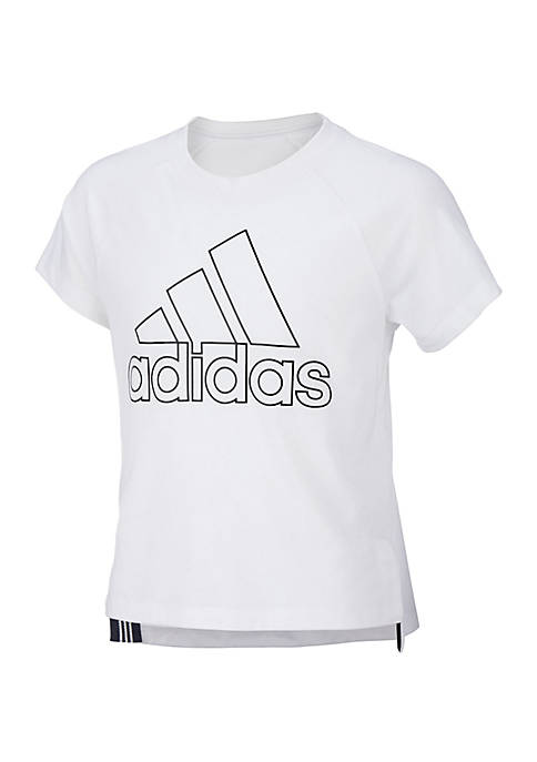 adidas Girls 7-16 Short Sleeve Winners Tee
