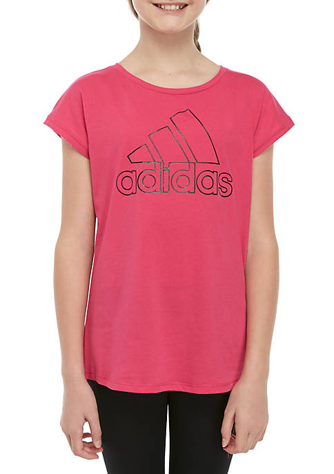Girls 7-16 Drop Shoulder Tee