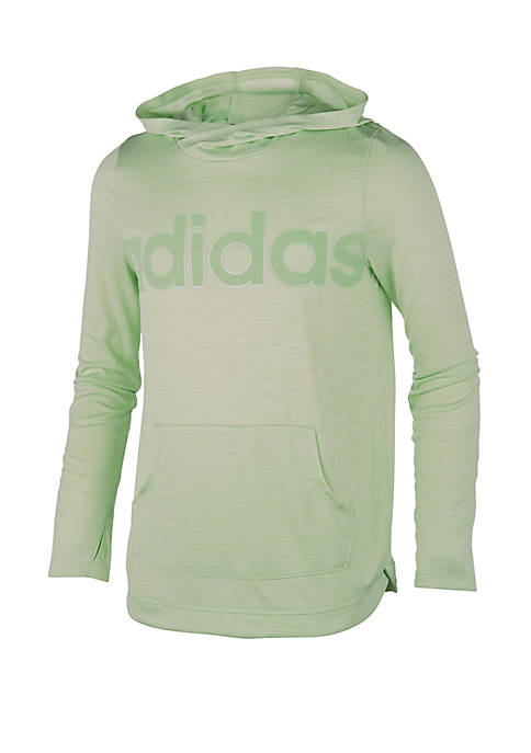 adidas Girls 7-16 Long Sleeve Hoodie