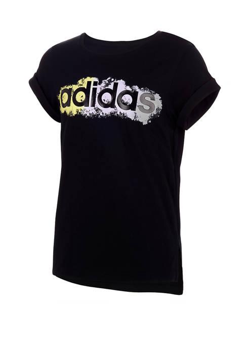 adidas Girls 7-16 Classic Boxy T-shirt