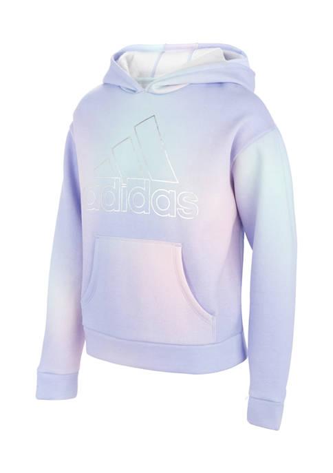 adidas Girls 7-16 Gradient Fleece Hoodie