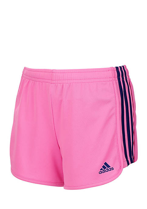 adidas Girls 2-6x Three Stripe Mesh Short