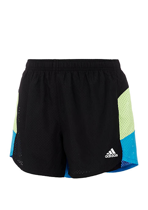 adidas Girls 7-16 Perforated Shorts