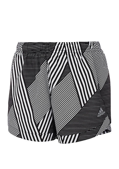 adidas Girls 7-16 Printed Training Shorts